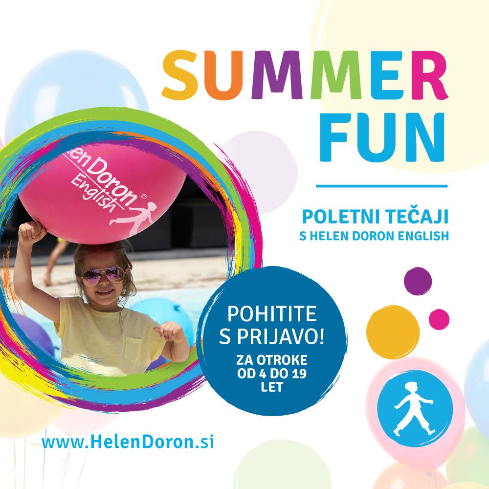 Poletni tečaji angleščine za noro zabavno poletje
